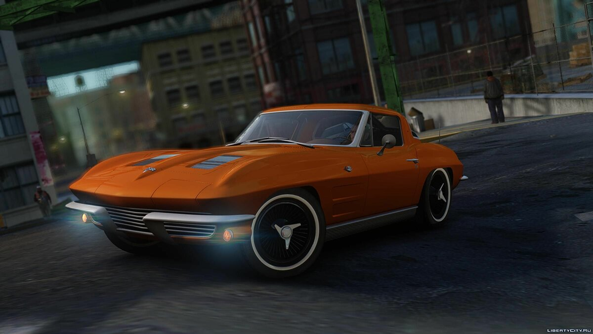 1963 Chevrolet Corvette Stingray для GTA 4