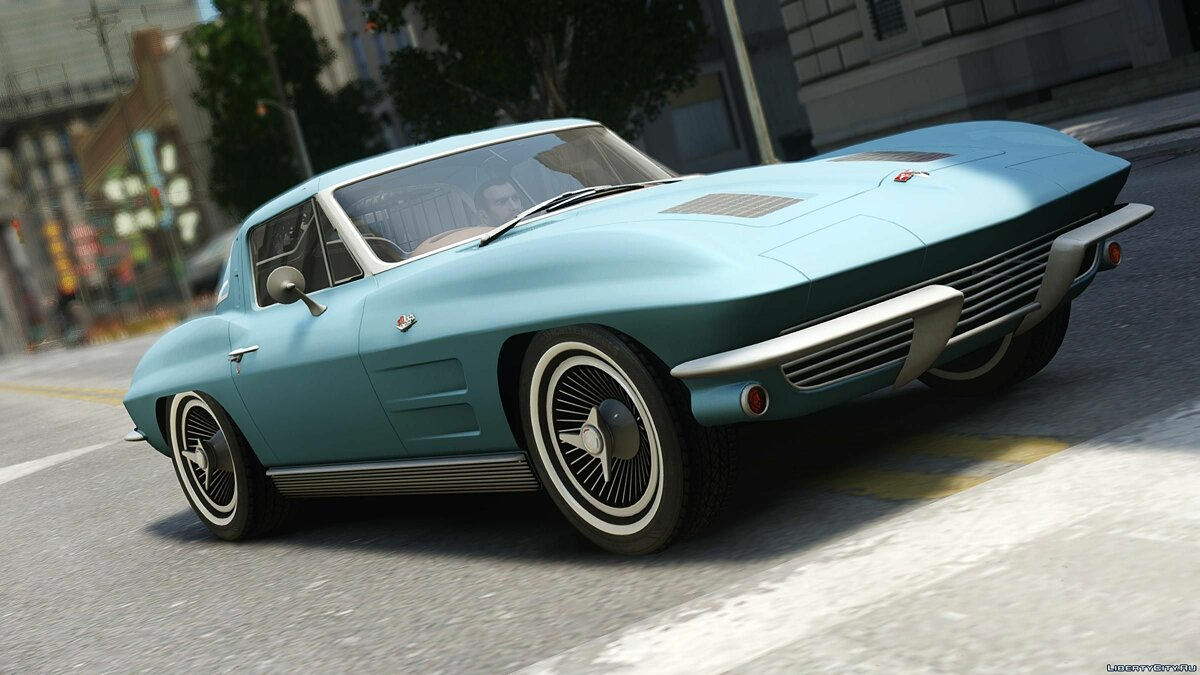 1963 Chevrolet Corvette Stingray для GTA 4 - скриншот #4
