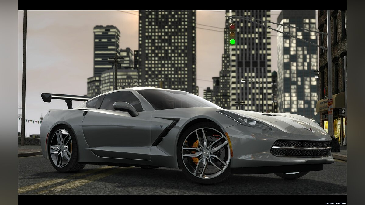 2014 Chevrolet Corvette C7 Tuning для GTA 4 - скриншот #2