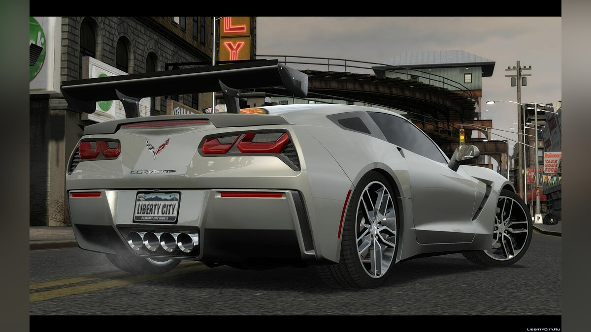 2014 Chevrolet Corvette C7 Tuning для GTA 4 - скриншот #3