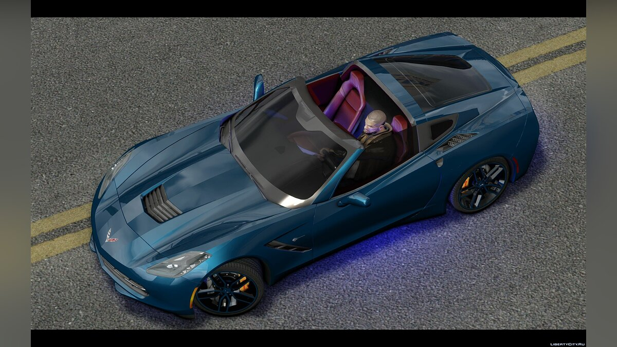 2014 Chevrolet Corvette C7 Tuning для GTA 4 - скриншот #4