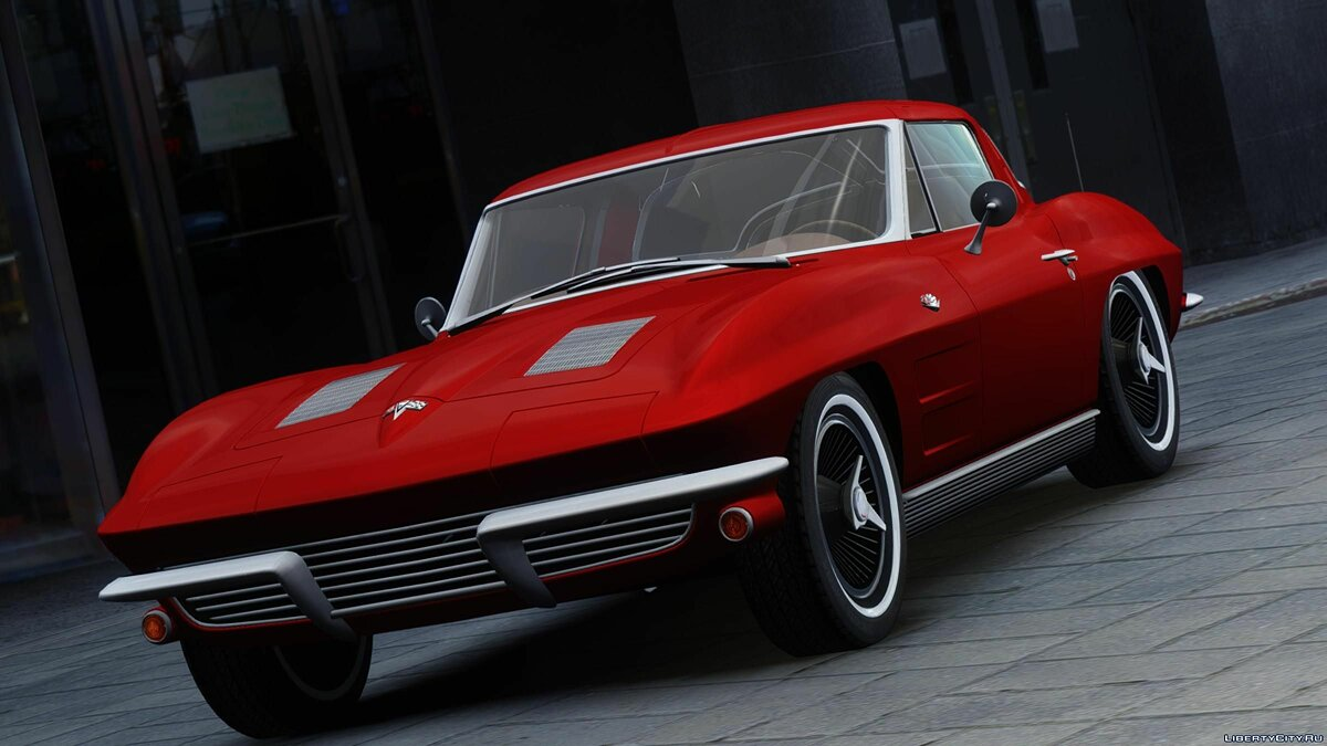 1963 Chevrolet Corvette Stingray - Version 2 для GTA 4