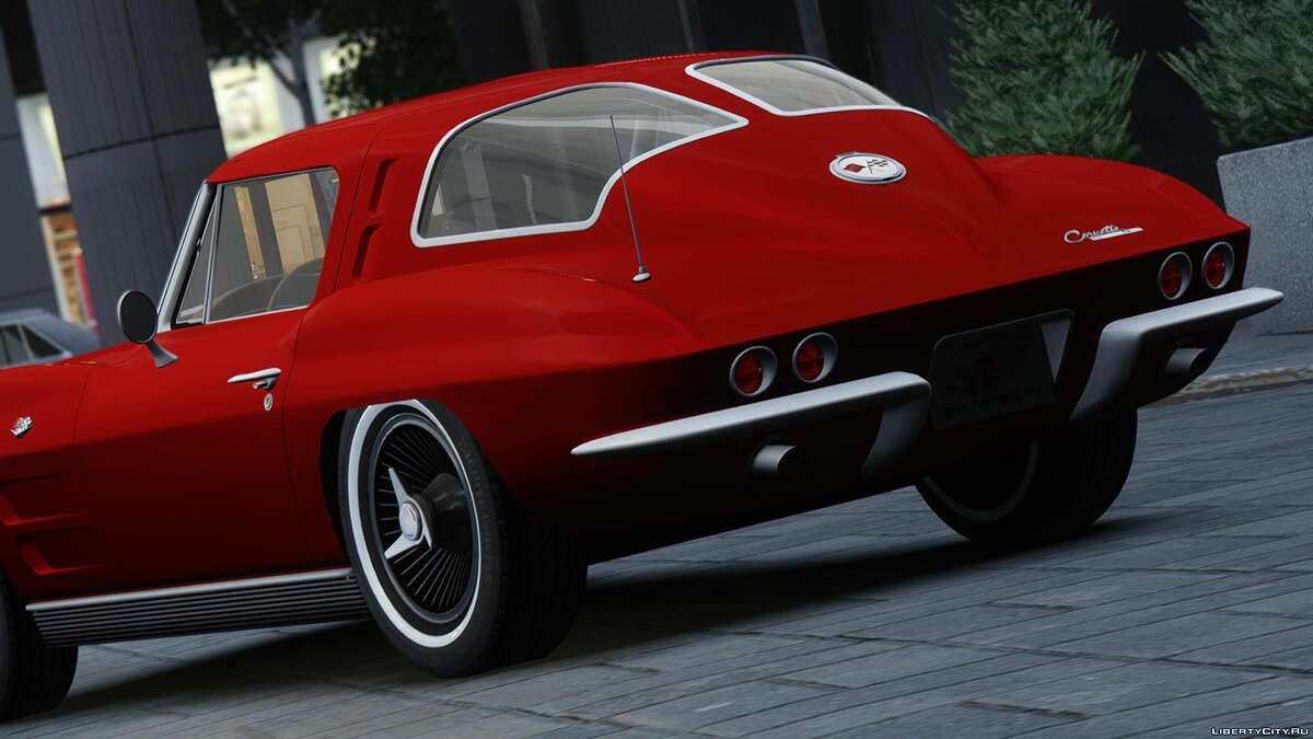 1963 Chevrolet Corvette Stingray - Version 2 для GTA 4 - скриншот #2