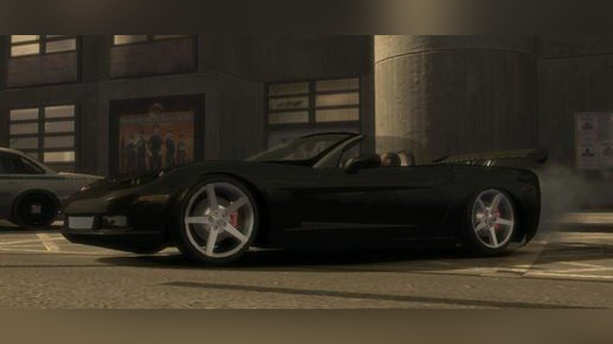 Chevrolet Corvette C6 Convertible v1.0 by nervous94 для GTA 4