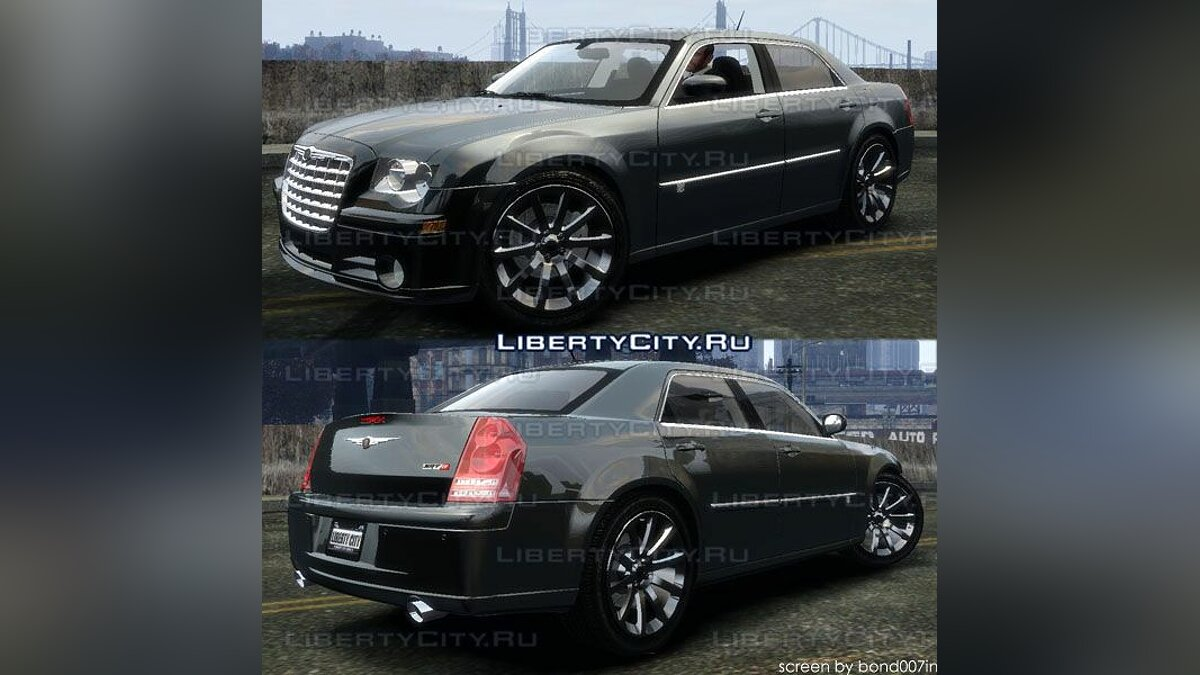 Машина Chrysler Chrysler 300c SRT8 для GTA 4