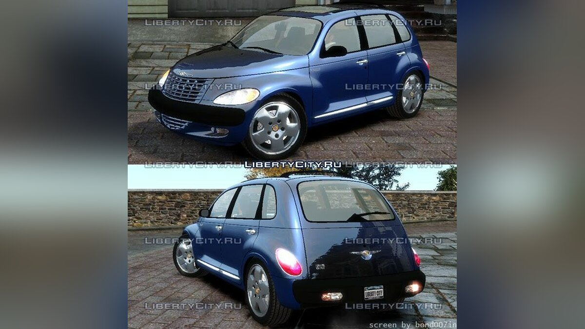 ��ашина Chrysler Chrysler PT Cruiser для GTA 4