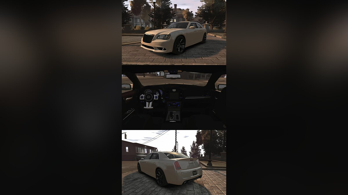 2012 Chrysler 300 SRT8 для GTA 4