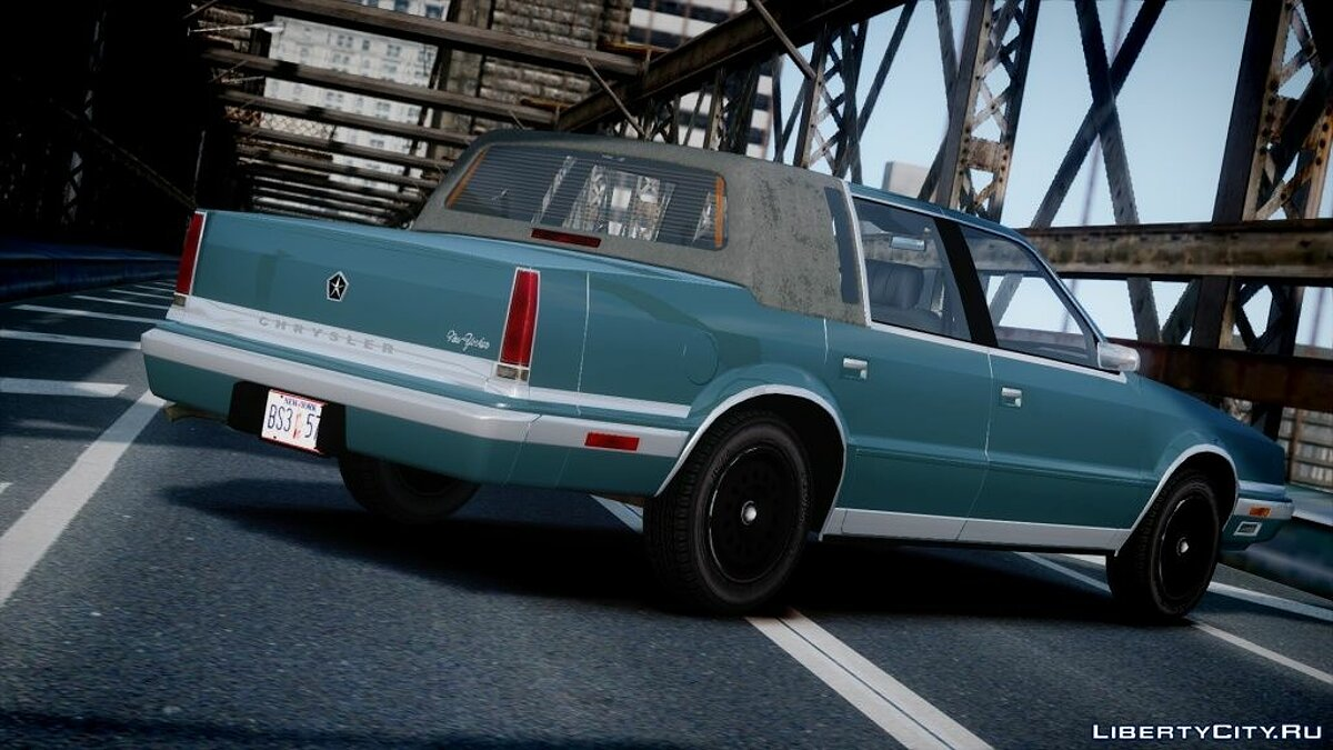 ��ашина Chrysler Chrysler New Yorker 1988 v1.2 для GTA 4