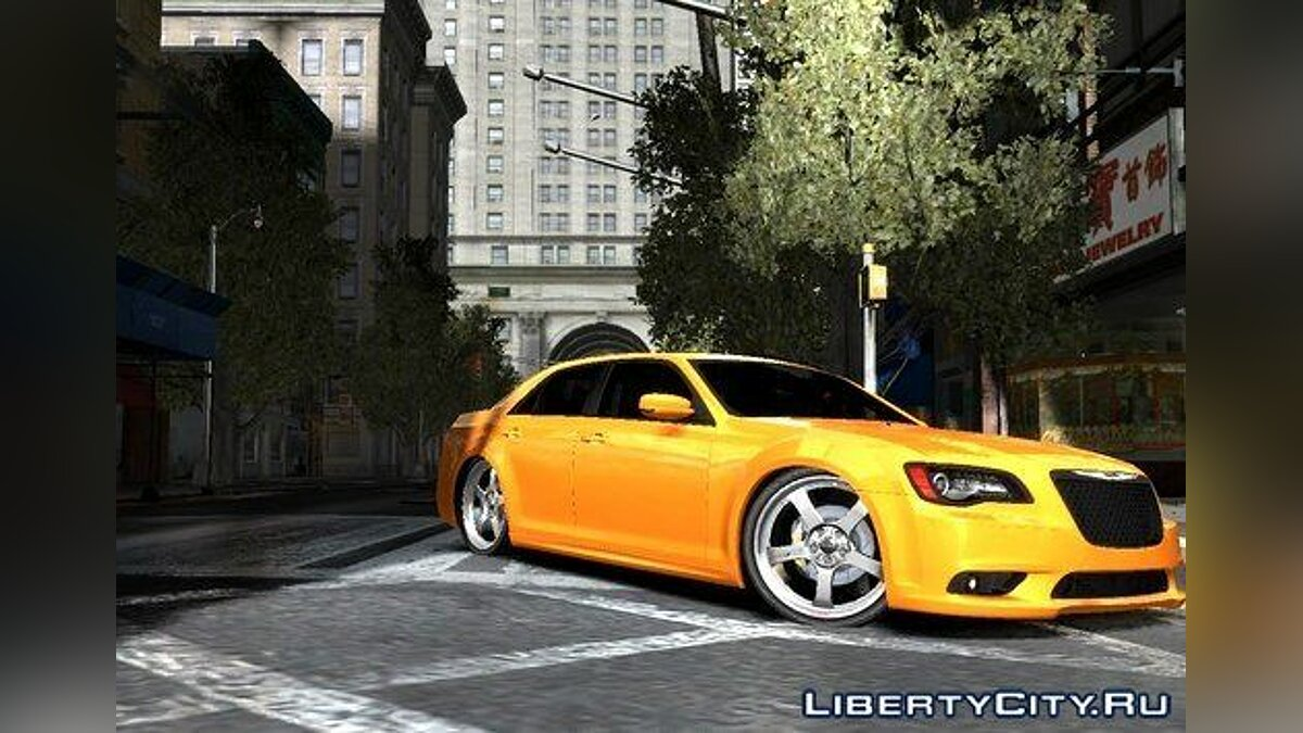 ��ашина Chrysler Chrysler 300 SRT8 2012 DUB для GTA 4