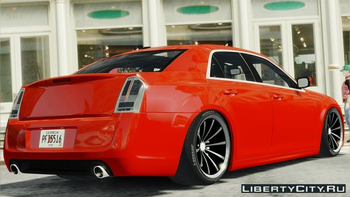 Chrysler 300 SRT8 [LX] 2012 для GTA 4 - Картинка #1