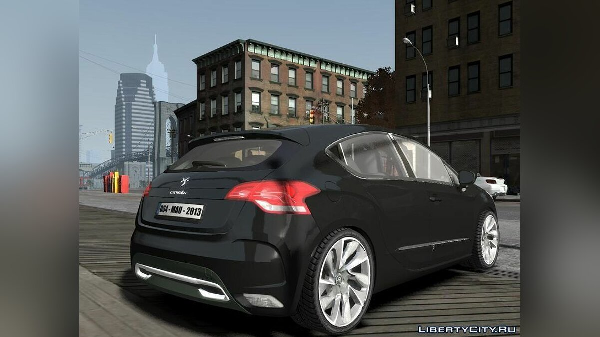 Машина Citroen Citroën DS4 2012 vs 1.0 для GTA 4