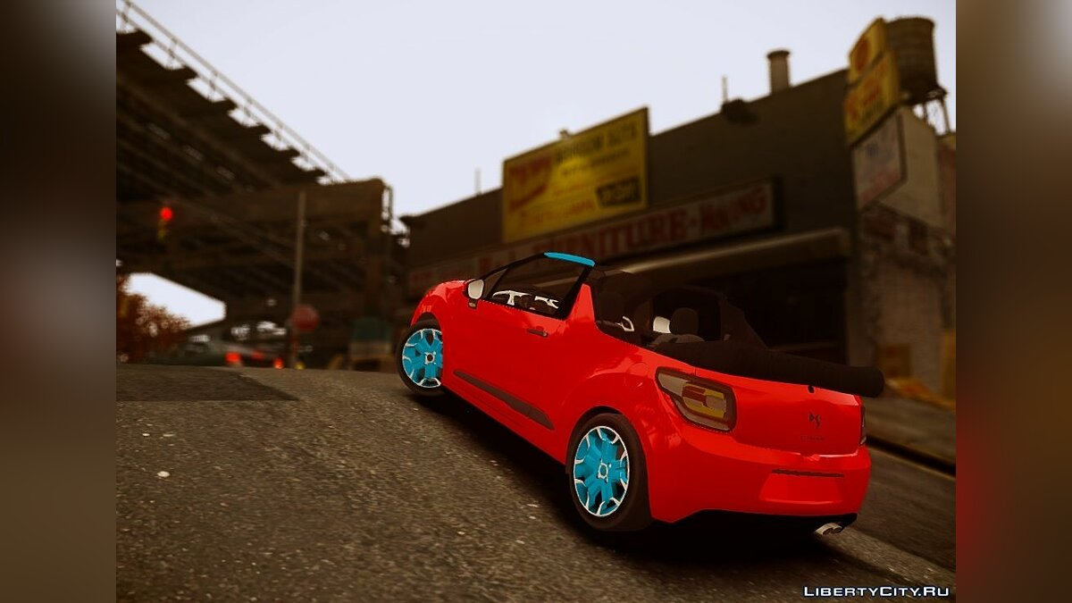 Машина Citroen Citroen DS3 convertible для GTA 4