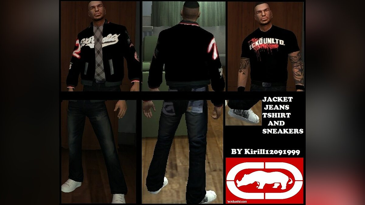 Ecko pack for TBOGT для GTA 4