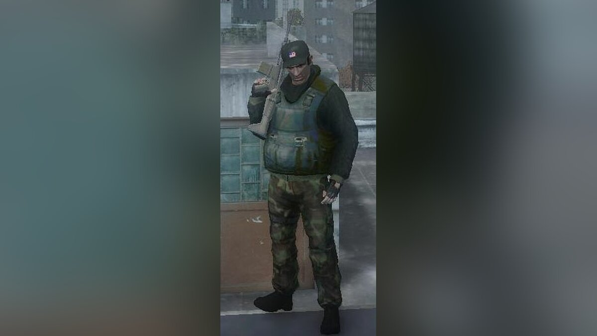Army clothes for Niko для GTA 4