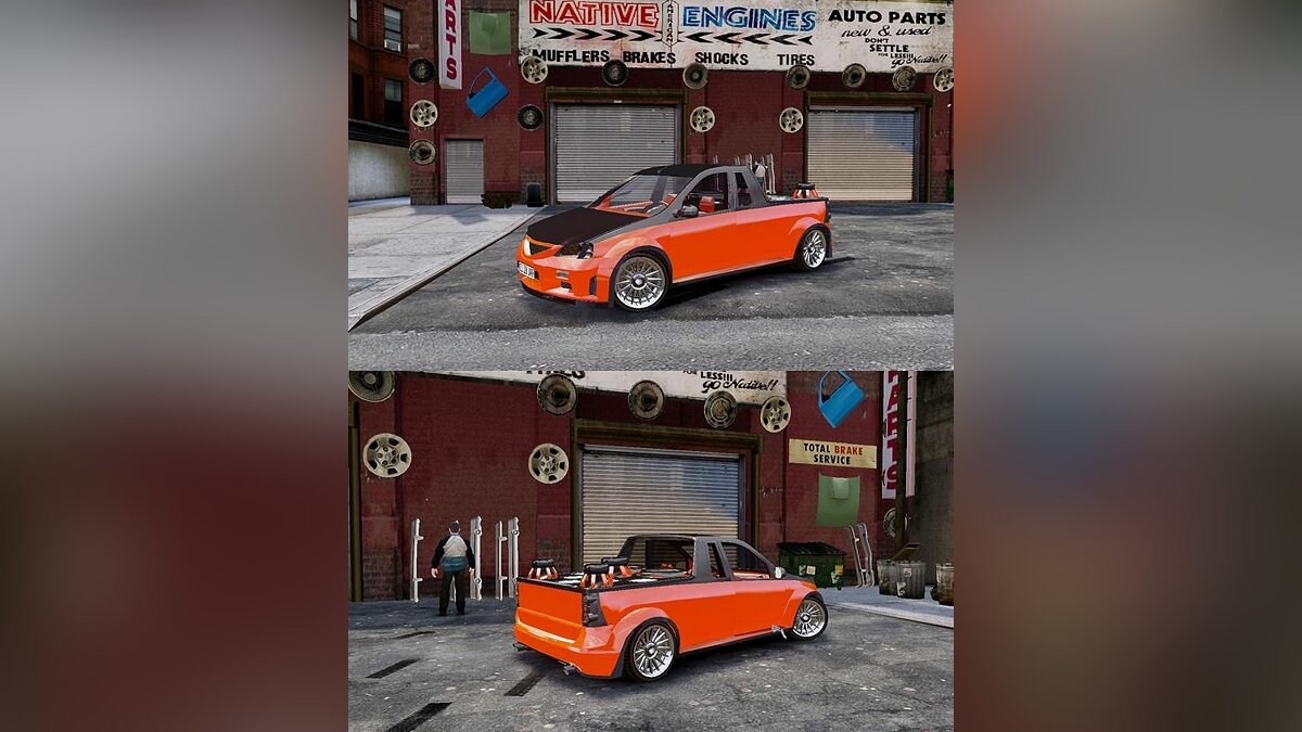 Dacia Pickup Tuning для GTA 4