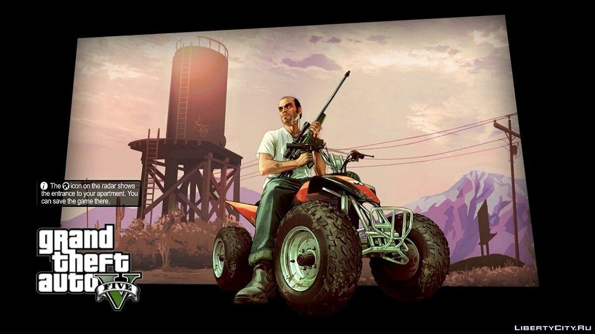 Файл GTA V Loading Screens для GTA 4