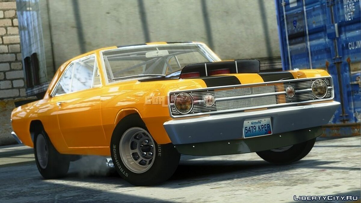 Dodge Dart HEMI Super Stock 1968 для GTA 4