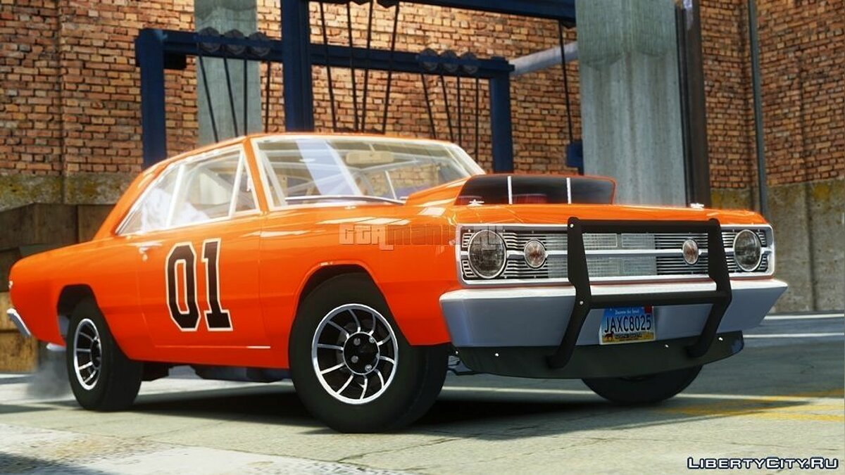 Dodge Dart HEMI Super Stock 1968 для GTA 4 - скриншот #2