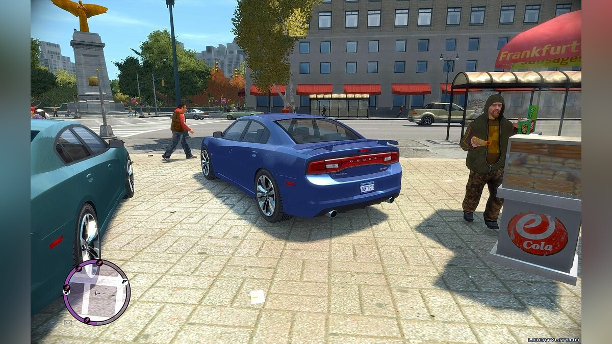 Dodge Charger SRT8 для GTA 4 - скриншот #3