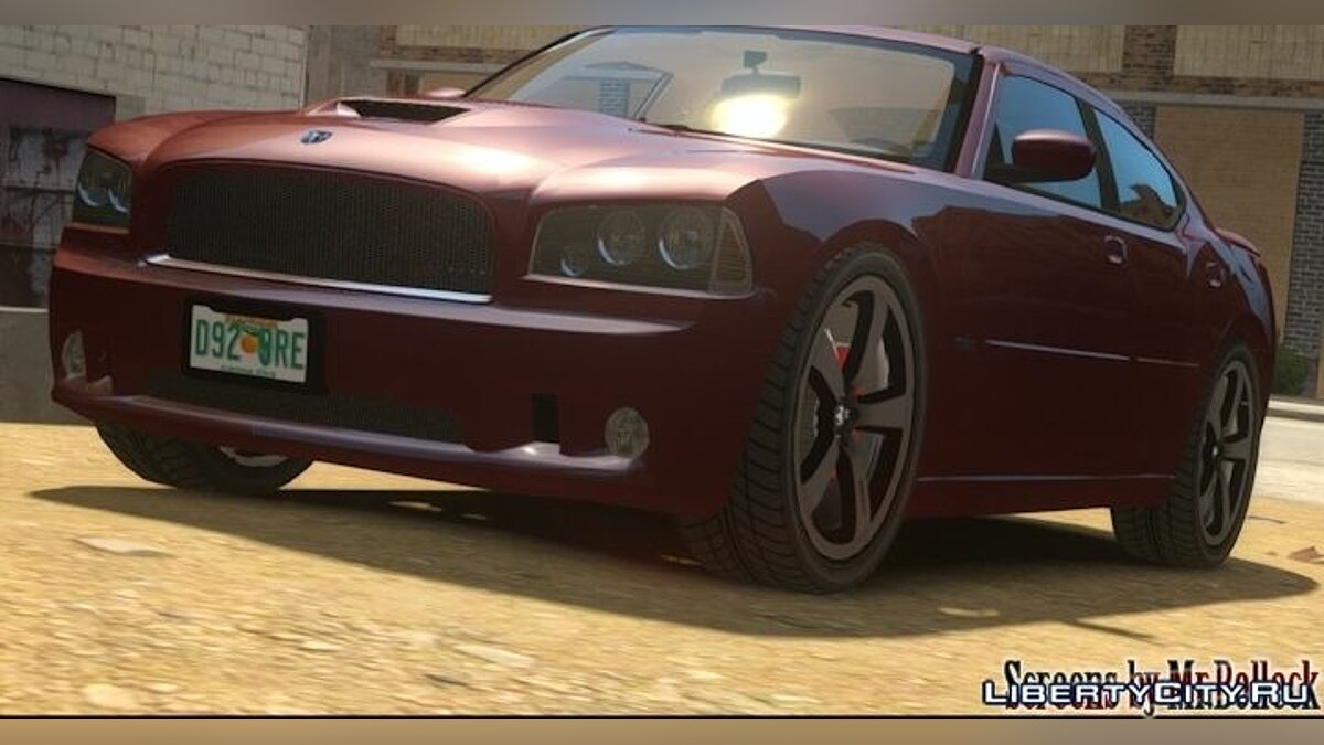 ��ашина Dodge 2006 Dodge Charger SRT для GTA 4