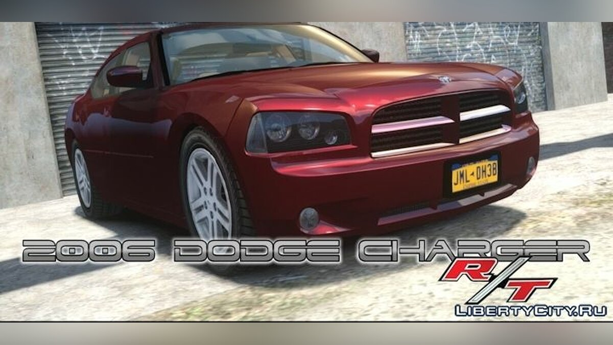 ��ашина Dodge 2006 Dodge Charger RT для GTA 4