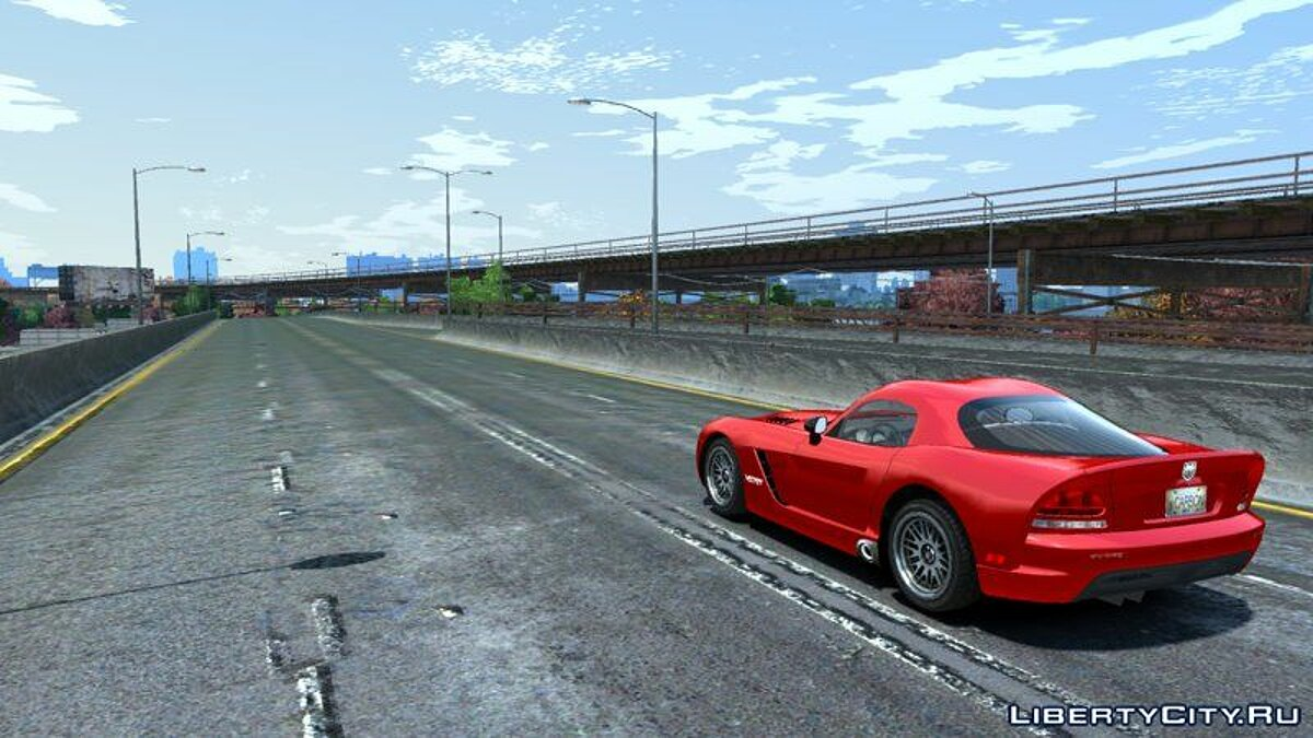 Машина Dodge Dodge Viper SRT-10 (NFS Carbon) для GTA 4
