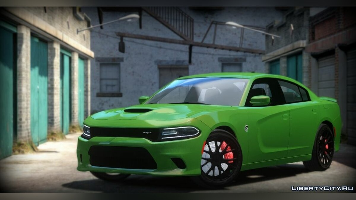 ��ашина Dodge 2015 Dodge Charger SRT Hellcat для GTA 4