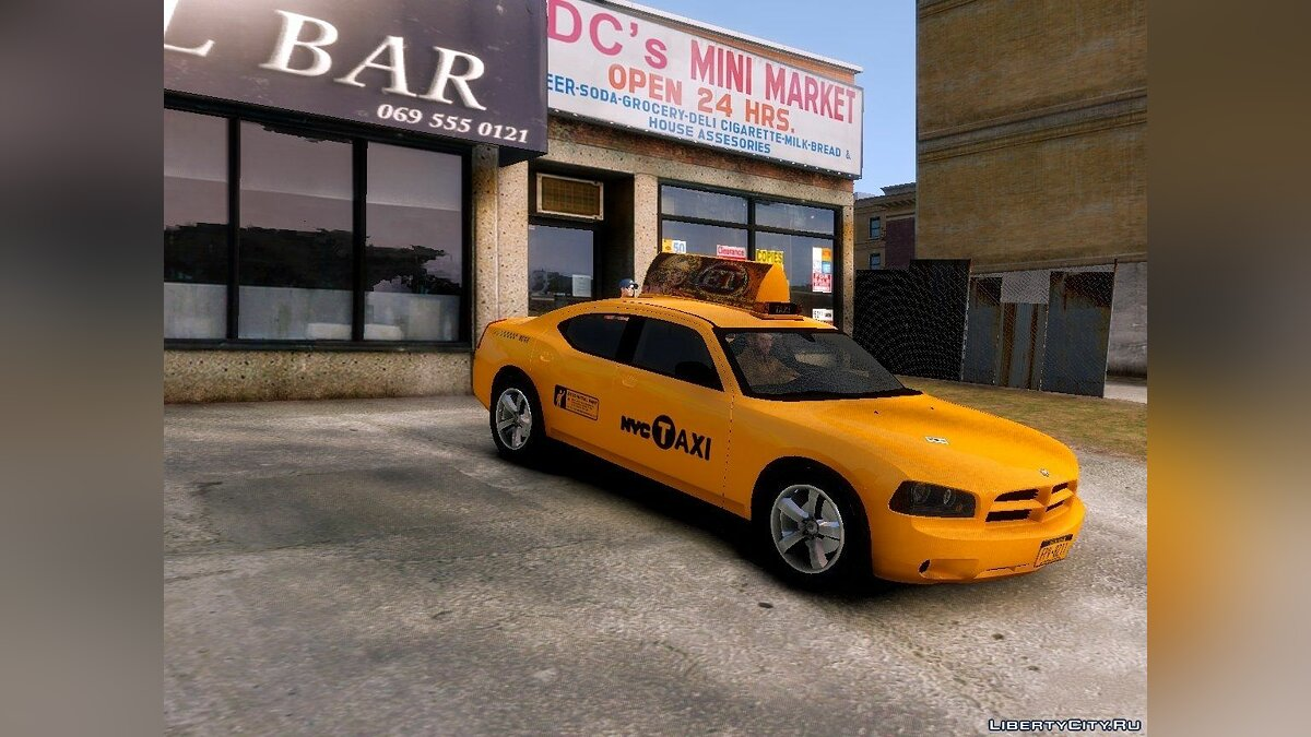 Dodge Charger NYC Taxi V.1.8 для GTA 4 - скриншот #3