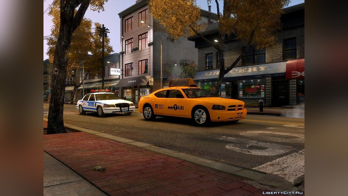 Dodge Charger NYC Taxi V.1.8 для GTA 4 - скриншот #2