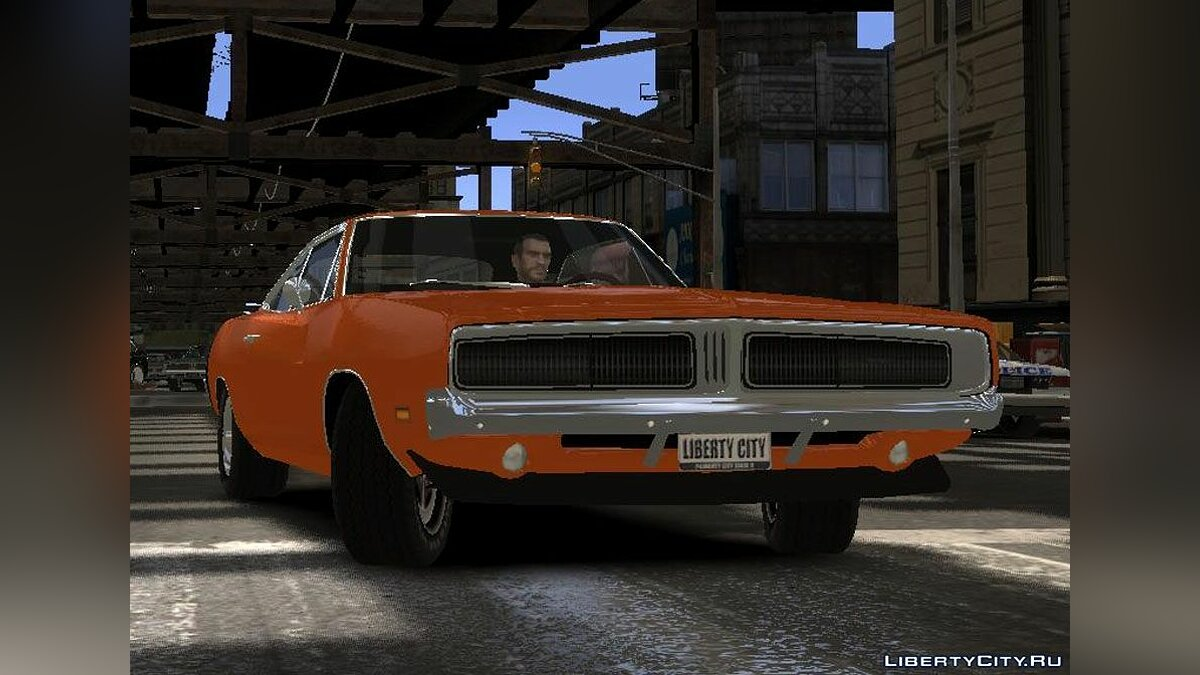 Dodge Charger RT 1969 для GTA 4 - скриншот #2