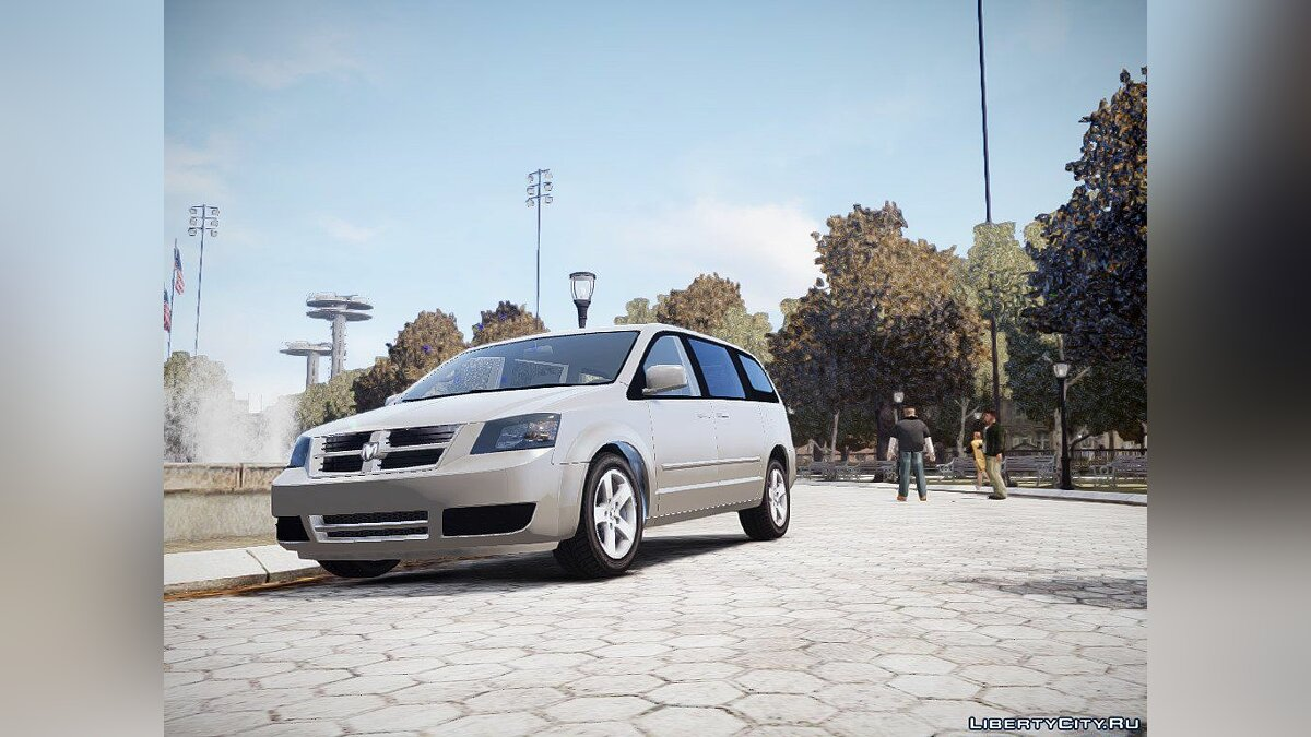 2008 Dodge Grand Caravan SXT by RSocialClubTV1 для GTA 4