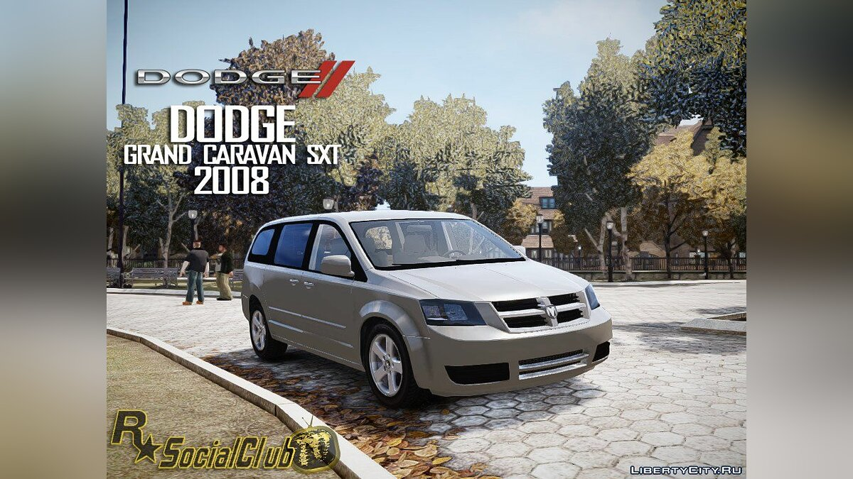 2008 Dodge Grand Caravan SXT by RSocialClubTV1 для GTA 4 - скриншот #2