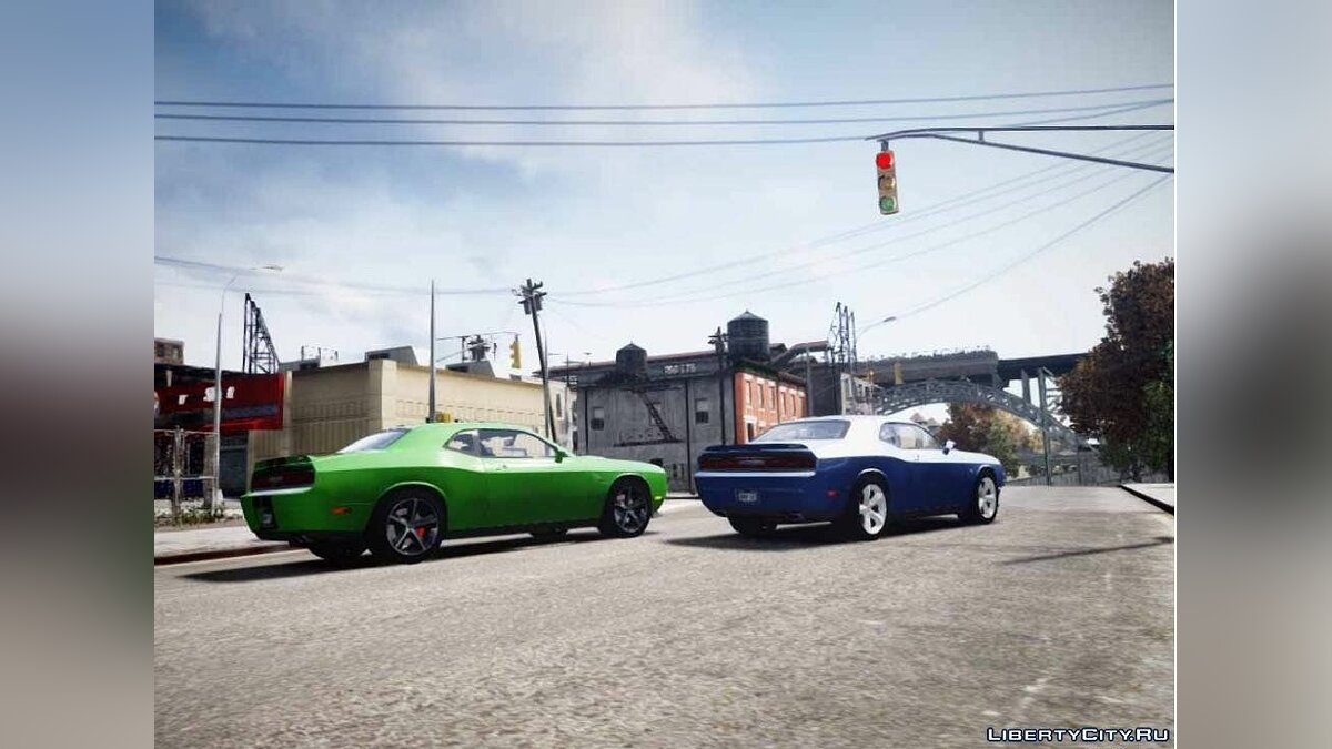 2012 Dodge Challenger SRT8 392 для GTA 4 - скриншот #2