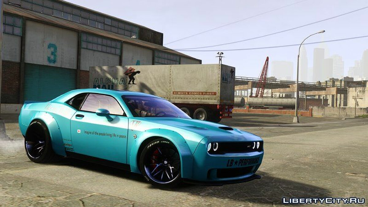 ��ашина Dodge Dodge Challenger Liberty Walk '15 для GTA 4