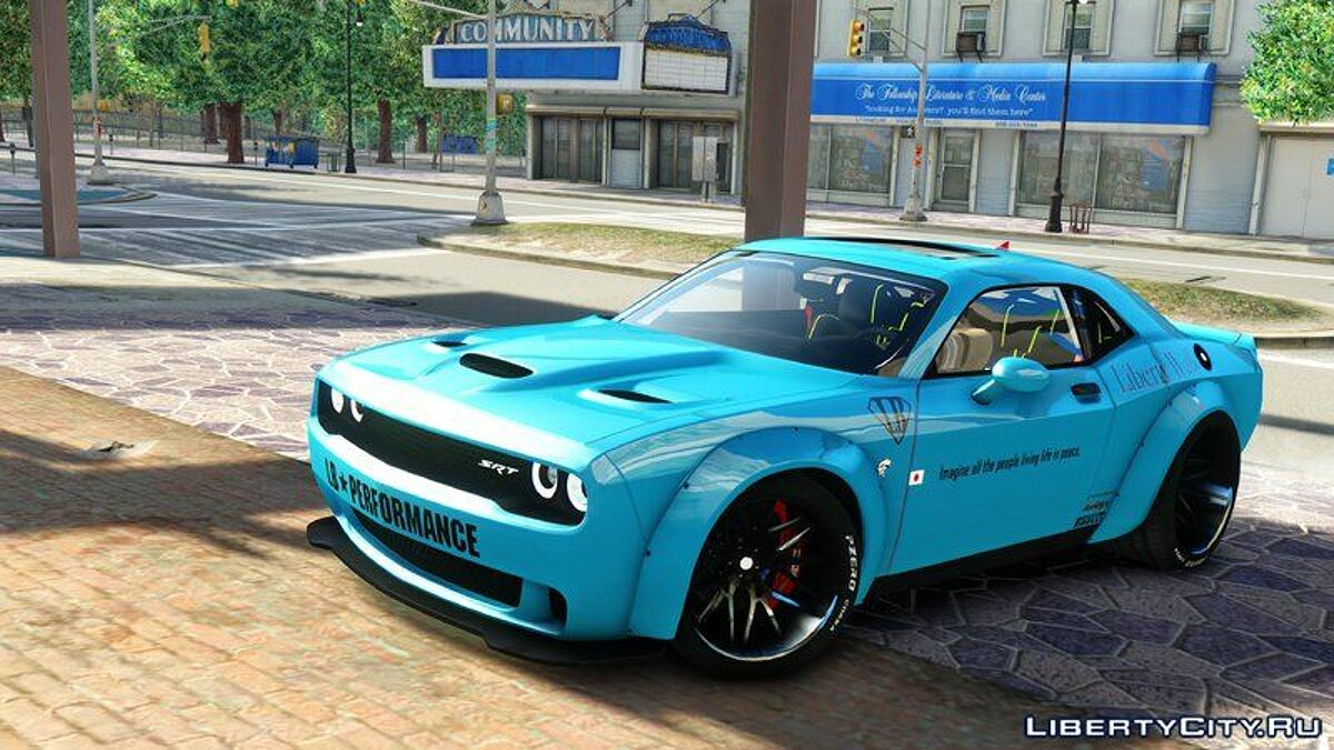 Dodge Challenger Liberty Walk '15 для GTA 4 - скриншот #7