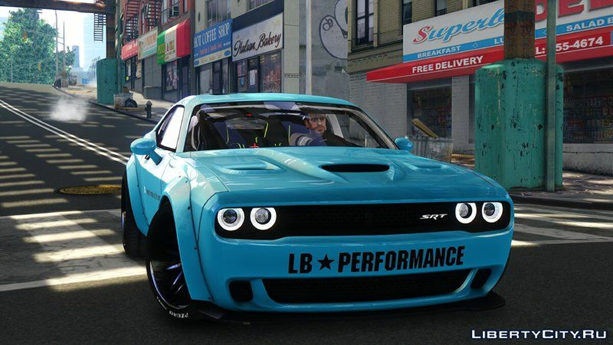 Dodge Challenger Liberty Walk '15 для GTA 4 - скриншот #6