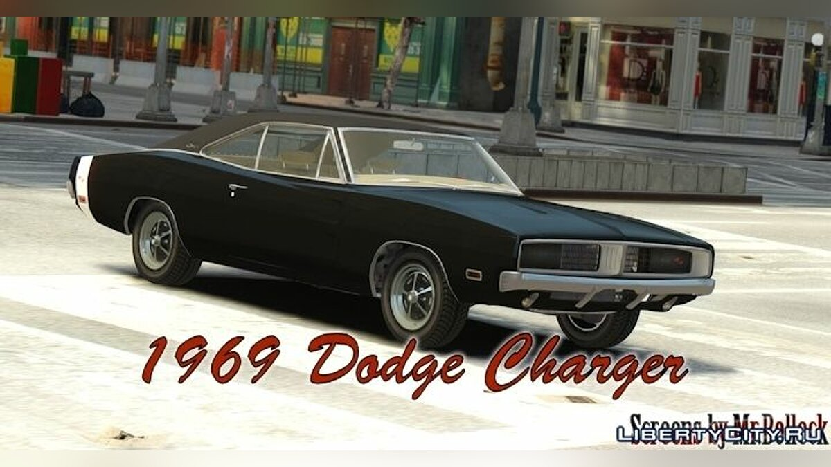 1969 Dodge Charger RT для GTA 4