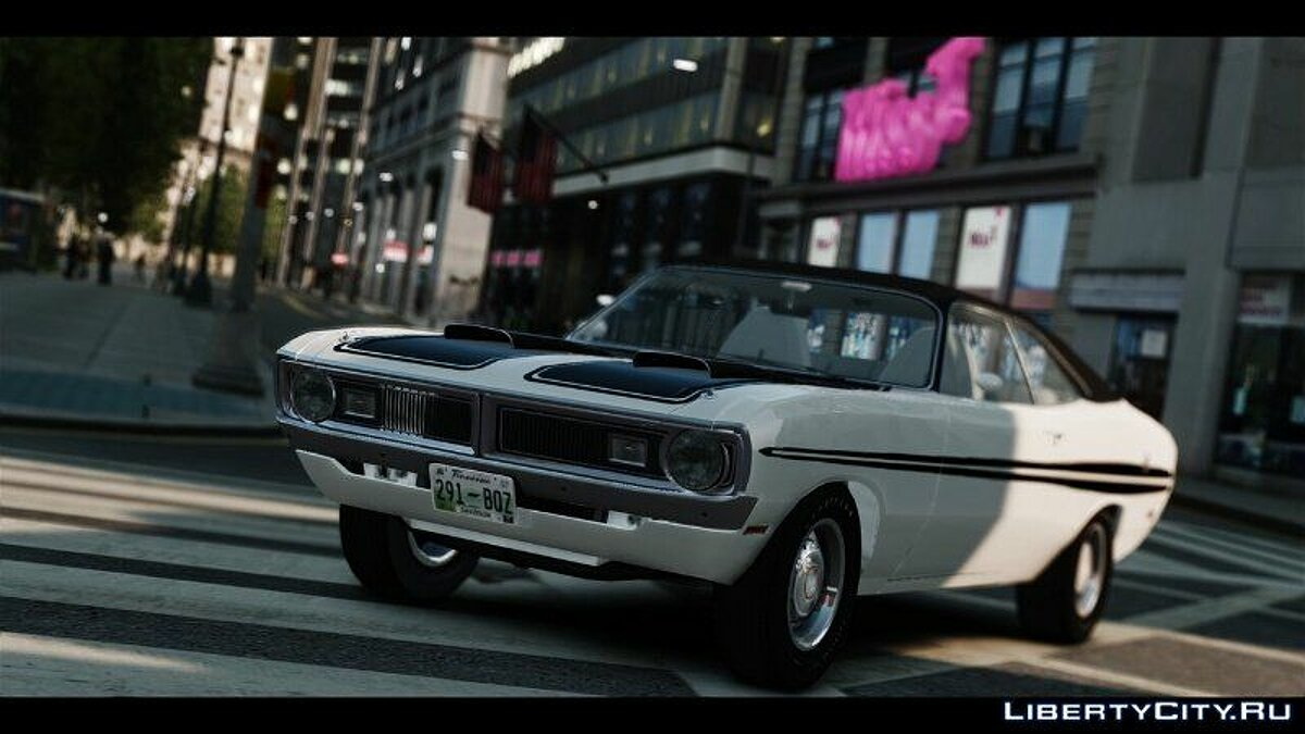 1971 Dodge Demon v1.0 для GTA 4 - скриншот #3