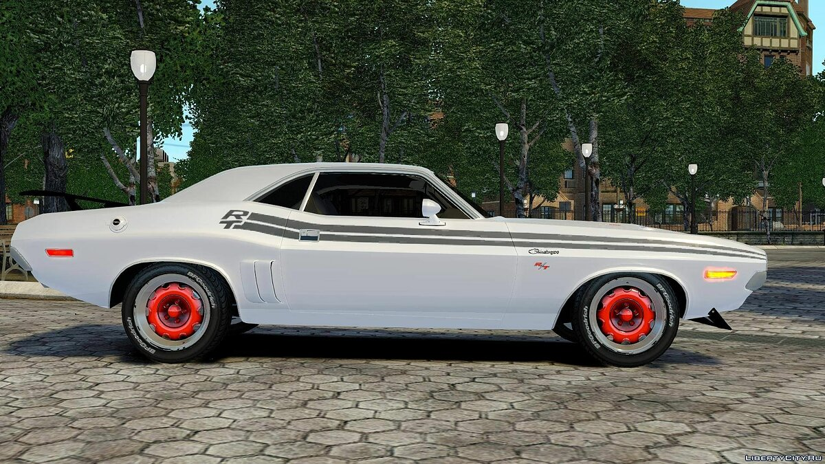 1972 Dodge Challenger RT для GTA 4 - скриншот #4