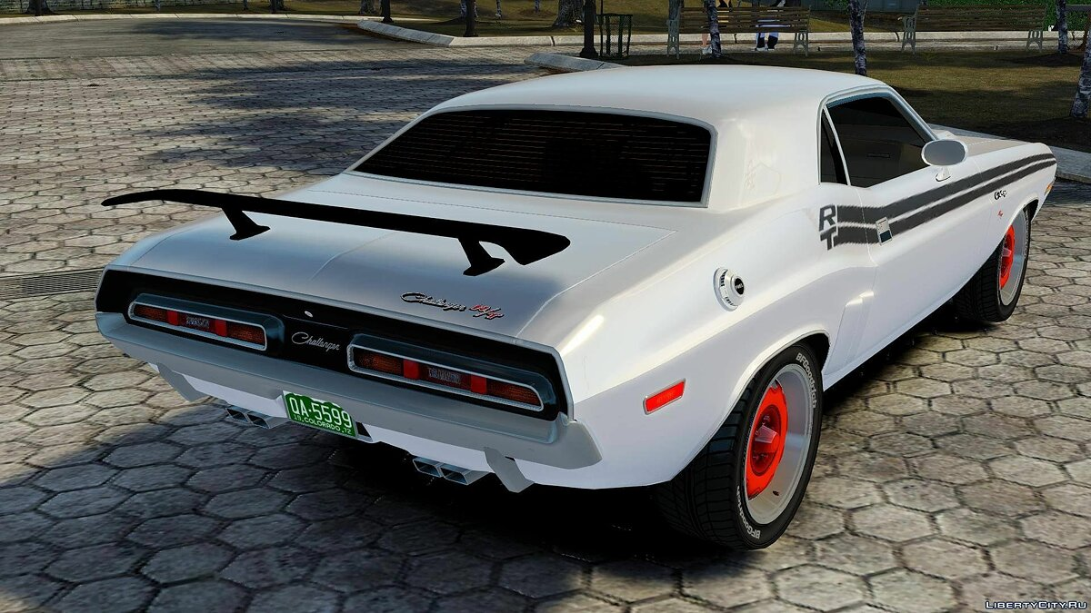 1972 Dodge Challenger RT для GTA 4 - скриншот #5