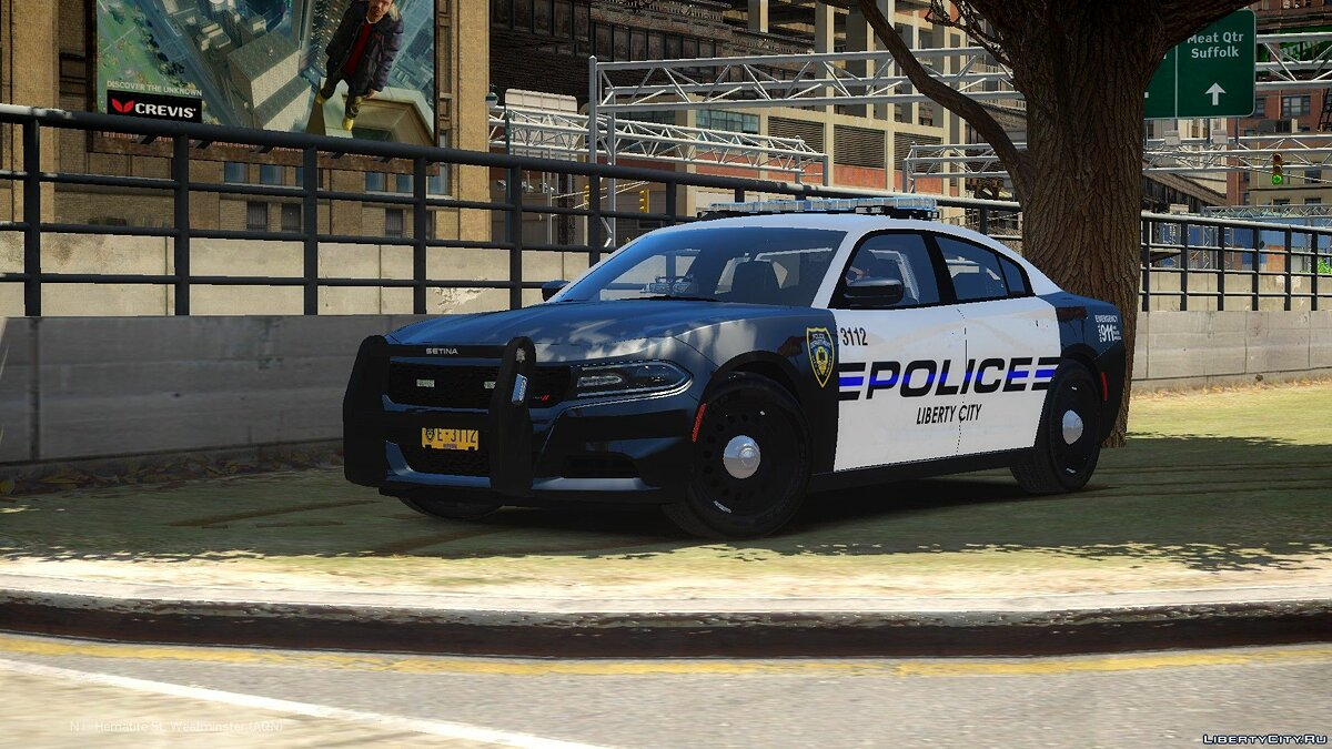 Машина Dodge 2015 Dodge Charger PPV LCPD для GTA 4