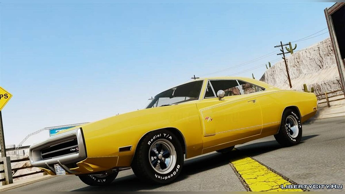 Dodge Charger RT-SE 440 Magnum 1970 [EPM] для GTA 4