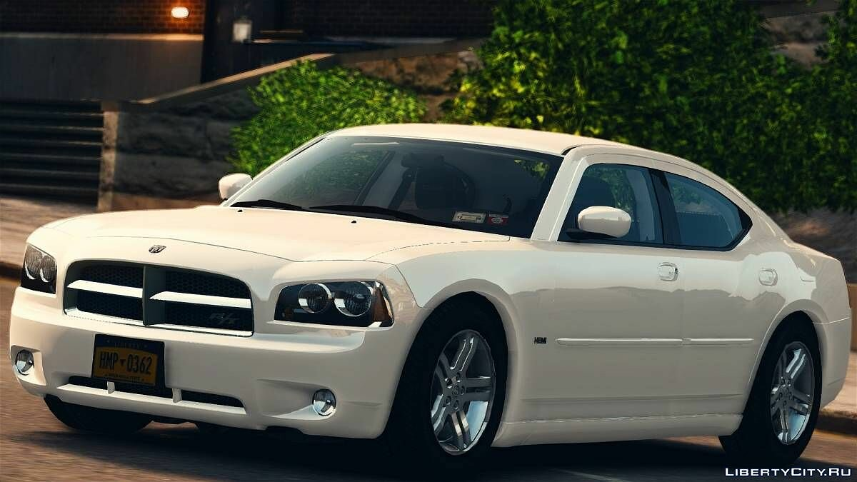 Машина Dodge 2007 Dodge Charger R/T [REMAKE] для GTA 4