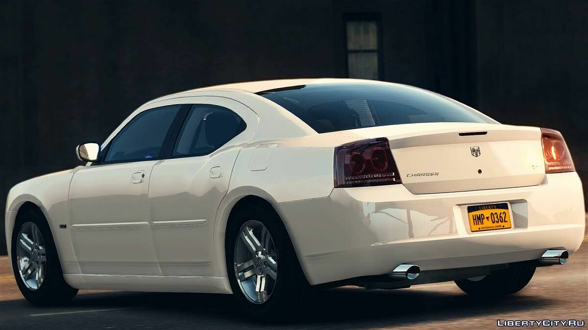 ��ашина Dodge 2007 Dodge Charger R/T [REMAKE] для GTA 4