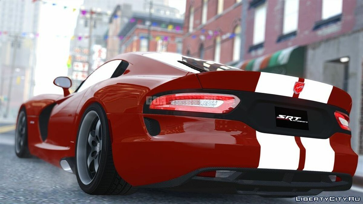 Dodge Viper SRT GTS 2013 [Beta] для GTA 4 - скриншот #2