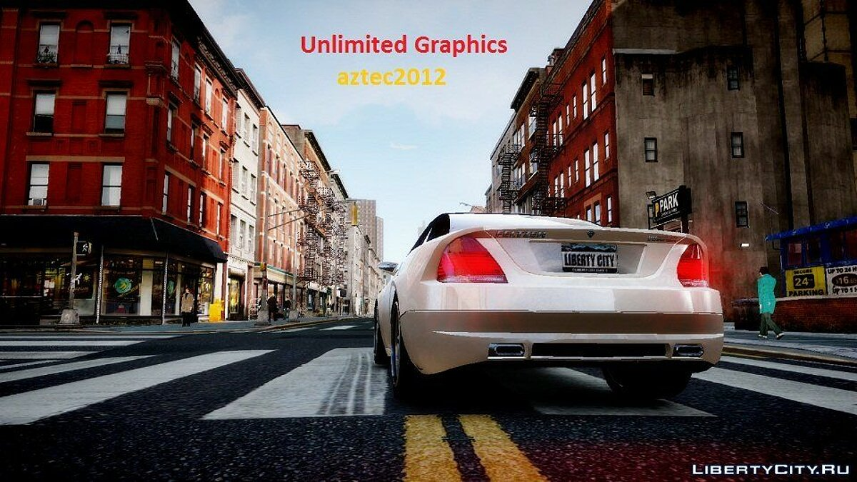 Unlimited Graphics v4 final для GTA 4