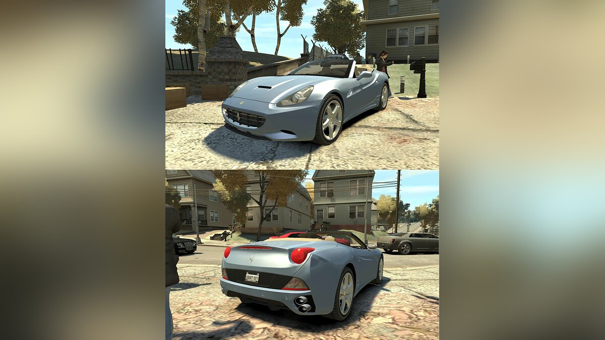 2009 Ferrari California v.2.0 для GTA 4