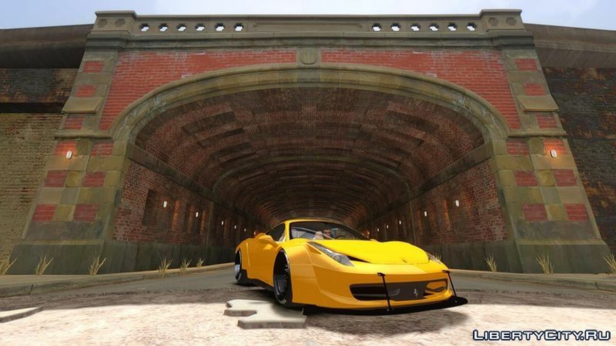 Ferrari 458 Italia Liberty Walk - BETA - для GTA 4