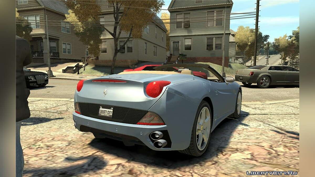 2009 Ferrari California v2.0 для GTA 4 - скриншот #2