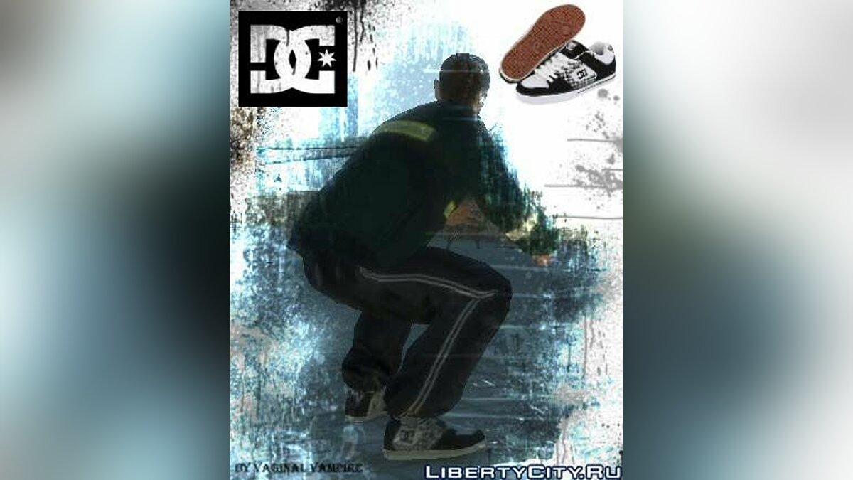 REAL DC SHOES PURE XE для GTA 4
